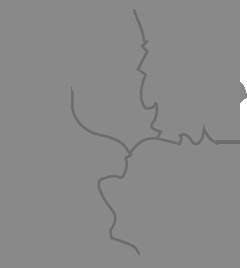 une carte du Poitou-Charentes