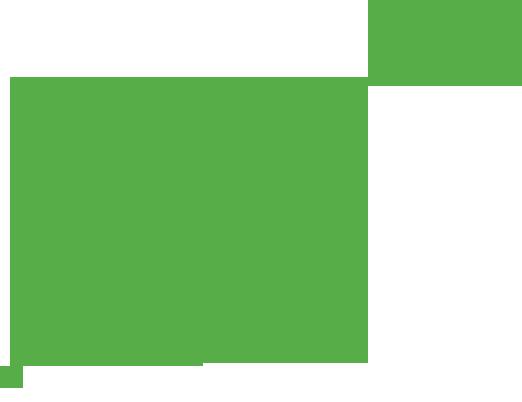 Une courbe verte