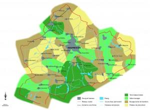 Carte paysages Mauprévoir