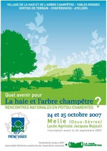 affiche RNAHC 2007