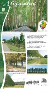 Page Alignement de l'exposition paysages