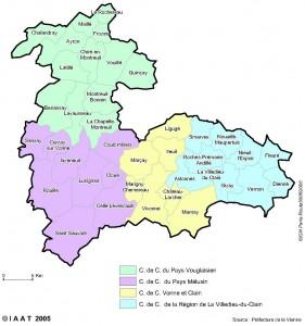 Une carte du Pays des Six Vallées