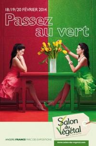 Affiche Salon du Végétal 2014