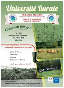 CPIE de Gâtine Poitevine - Flyer Université-1