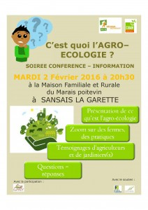 affiche agroécologie
