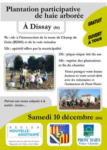 Affiche SRAH Dissay